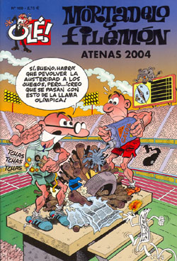 Atenas 2004 - Mortadelo y Filemón