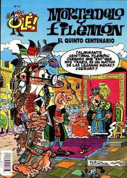 El Cacao Espacial - Mortadelo y Filemón