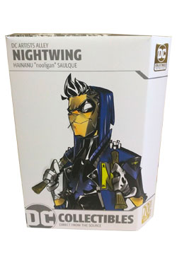 DC Comics-DC artistes Alley-Nightwing figure par nooligan