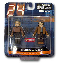 24 Minimates End of Day 1 Jack Bauer